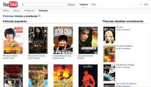 Youtube Movies Ofrece Pel Culas Pletas Gratis