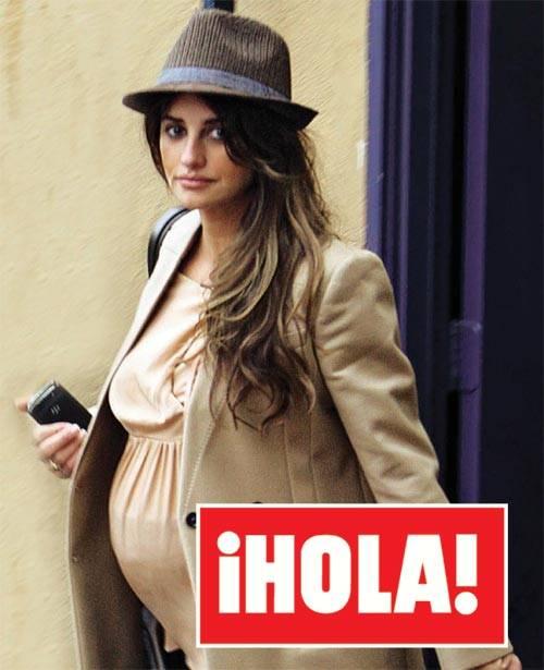 Penélope Cruz no cambia su estilo de vestir aún embarazada