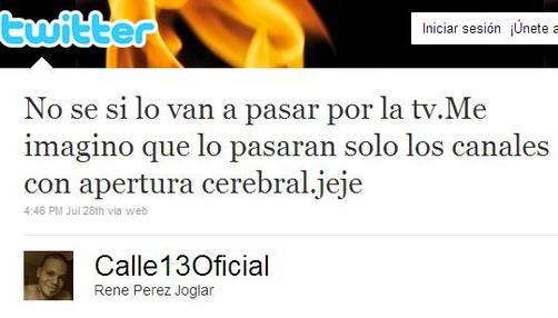 Video de Calle 13 'Calma Pueblo' es censurado por Youtube