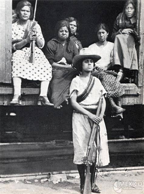 Las mujeres en la independencia y la Revolución Mexicana