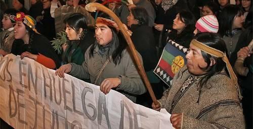 Chile: Tras 82 días, mapuches ponen fin a la huelga de hambre