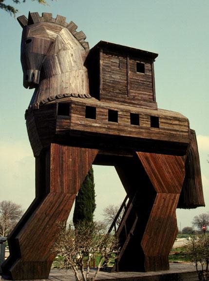 el libro de caballo de troya: