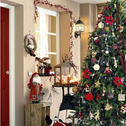 C mo adornar tu rbol de navidad - Como adornar mi arbol de navidad ...