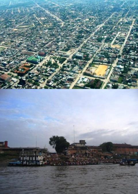 PUCALLPA: 'TIERRA COLORADA', CIUDAD AMAZONICA