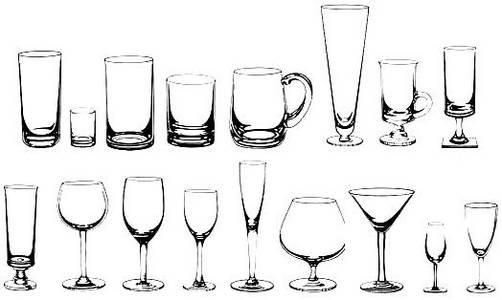 Tipos de copas y como utilizarlas for Tipos de copas