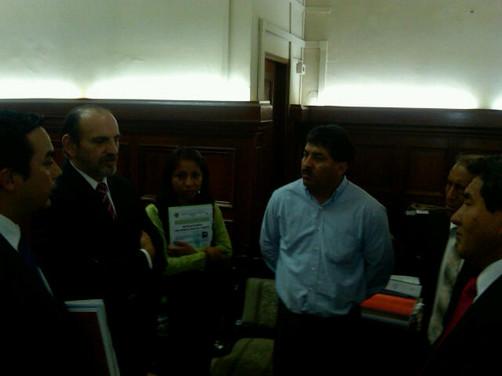CONACO y el CONGRESO DE LA REPUBLICA instalan Comisión Organizadora del CONAEM 2012.