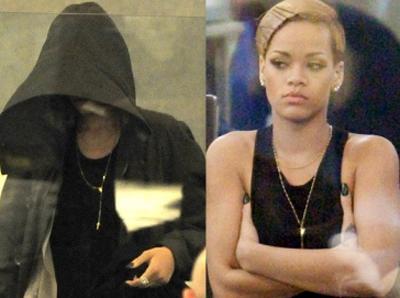 Polic as dejan sin ropa a rihanna en aeropuerto for Rihanna sin ropa interior
