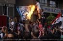 Egipto: manifestantes atacan la embajada israelí y el embajador abandona el país
