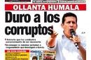 La Primera: Ollanta Humala, Duro a los Corruptos