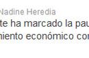 Y también a través de su cuenta Twitter sobre entrevista concedida por Ollanta Humala