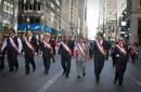 Peruanos se lucieron en desfile de la Hispanidad en NY