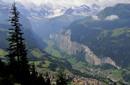 El cielo en la Tierra, en el valle de los Alpes Suiza
