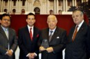 Homenajearon a Julio A. Salazar en el Congreso