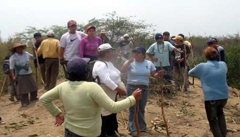 ¿Qué opina de las sanciones contra los invasores de terrenos en el país?