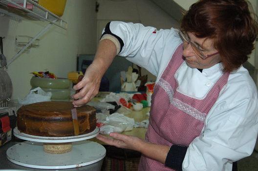 preparar una torta