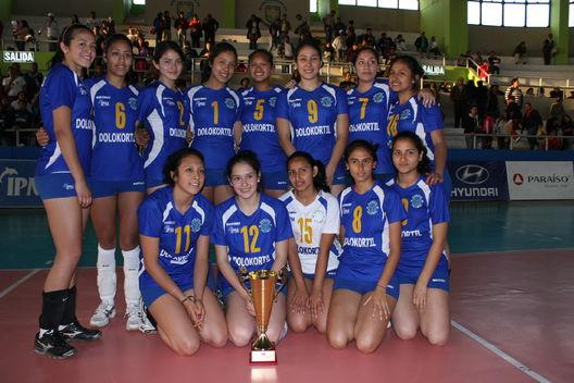 Final del Campeonato Nacional Juvenil de Voleybol: Alianza Lima vs Géminis