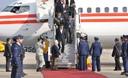 Presidente peruano Ollanta Humala Tasso llega a Chile para participar en la IV Cumbre de la Alianza del Pacífico.