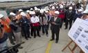 Ministro de Vivienda, René Cornejo, presenta emisor submarino de PTAR Taboada en el distrito de Ventanilla
