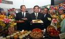 Ministro de Agricultura Luis Ginocchio y presidente Regional de Ancash, César Álvarez, anuncian 3ra Feria Alimentaria