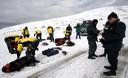 Rescate de los cadáveres en el nevado Mama Rosa de Paucartambo Cusco Tuvo que detenerse por mal tiempo en la zona