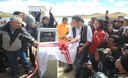Presidente de la Repblica, Ollanta Humala, inaugur la Represa de Huascacocha en la Regin de Junn