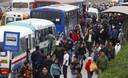 Huelga de transporte público de 24  se inicio con normal tranquilidad en todo Lima