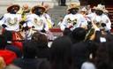 Presentación de la Festividad de la Virgen del Carmen de la Provincia de Paucarpato en Palacio de Gobierno
