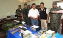 Presidente Ollanta Humala supervisó captura de terroristas e incautación de armas