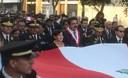 Susana Villarán, preside en la Plaza San Martín actos públicos por el 191 aniversario de la Declaración de la Independencia del Perú