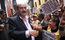 Presidente de la asociación de fonavista Andrés alcántara
