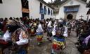 Celebran Procesión de la Virgen del Carmen en Paucartambo - Cusco