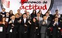 Nadine Heredia se presentó al lanzamiento de la campaña Cambiemos de Actitud