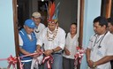 El jede de Estado inauguró posta medica en Putumayo