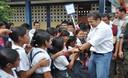 El presidente Ollanta Humala es bien recibido en Loreto