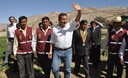 Presidente Ollanta Humala participó en acción civica en el distrito de Omate, en el departamento de Moquegua