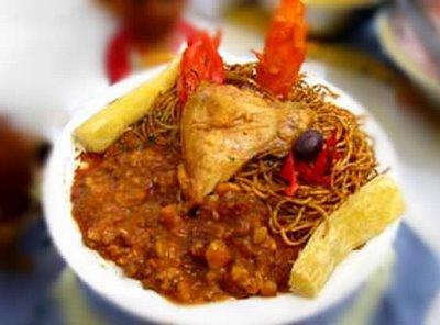 comida sopa seca: