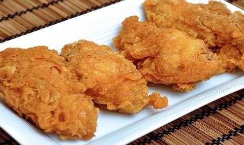 Pollo al estilo Kentucky