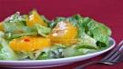 Ensalada mixta con mandarina