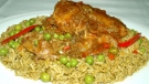 Arroz con Pato al estilo norte