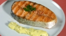 Salmon con salsa tartara